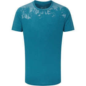 tentree Palm Classic T-Shirt Herren blue lake blue heather